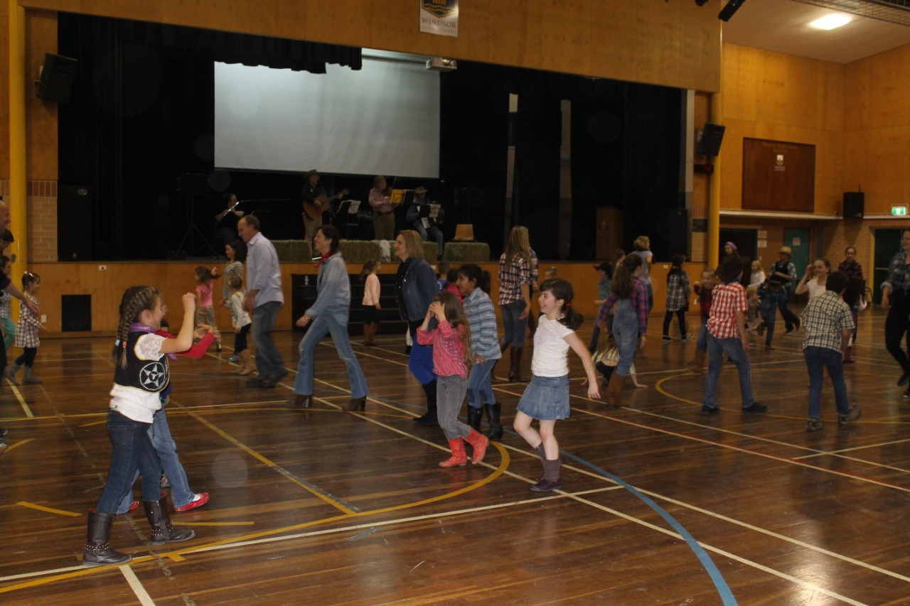 Bush dance at the school